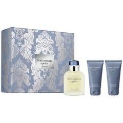 Dolce Amp Gabbana Light Blue Pour Homme Edt 125ml Giftset